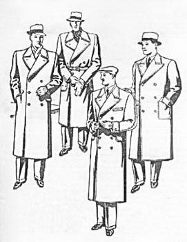 мужская мода 1937 года