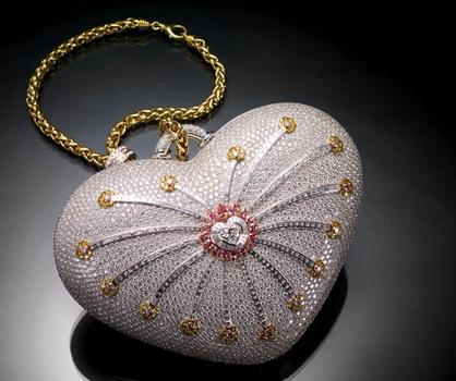 Самая дорогая женская сумочка за $3,8 млн.