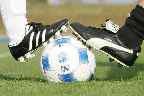 Соперничество брендов Adidas и Puma