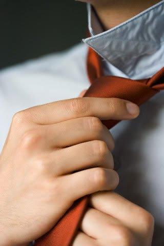 Хорошо повязанный галстук – это первый серьёзный шаг в жизни