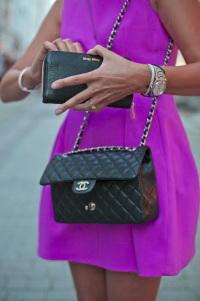 Психология фиолетового цвета в одежде