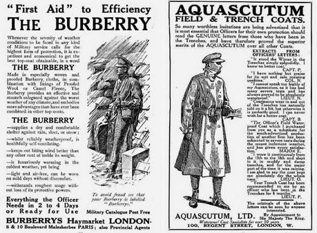Burberry поставляли тренчкоты для британских солдат