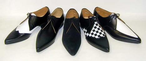 ботинки винкл-пикер