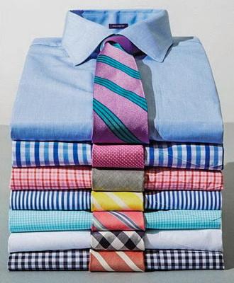 Как сочетать галстук с рубашкой