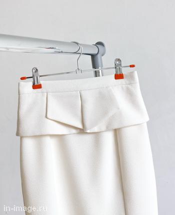 как хранить в шкафу юбки