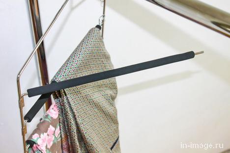 многоярусная вешалка для брюк с отодвигающейся перекладиной